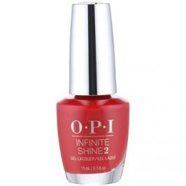 OPI Infinite Shine 2 lak na nechty odtieň Big Apple Red 15 ml
