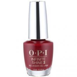 OPI Infinite Shine 2 lak na nechty odtieň Malaga Wine 15 ml