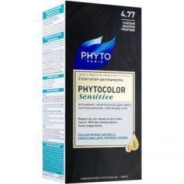 Phyto Color Sensitive permanentná farba na vlasy odtieň 4.77 Intense Chestnut Brown