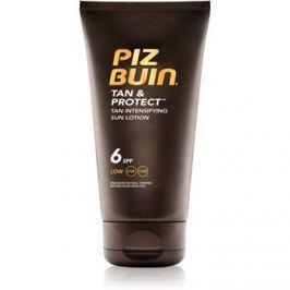 Piz Buin Tan & Protect ochranné mlieko urýchľujúce opálenie SPF 6  150 ml