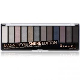 Rimmel Magnif´ Eyes paleta očných tieňov odtieň 003 Smoked Edition 14,16 g