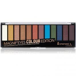 Rimmel Magnif´ Eyes paleta očných tieňov odtieň 004 Colour Edition 14,16 g