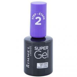Rimmel Super Gel Step 2 vrchný ochranný lak na nechty s leskom  12 ml