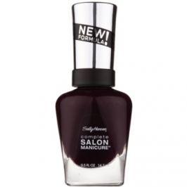 Sally Hansen Complete Salon Manicure posilňujúci lak na nechty odtieň 660 Pat on the Black 14,7 ml