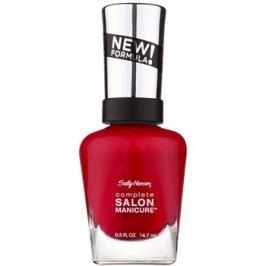 Sally Hansen Complete Salon Manicure posilňujúci lak na nechty odtieň 565 Aria Red-y? 14,7 ml