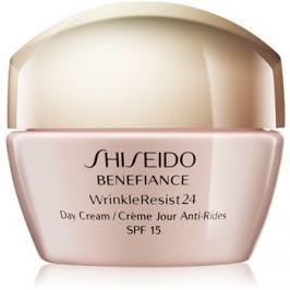 Shiseido Benefiance WrinkleResist24 denný protivráskový krém SPF15  50 ml