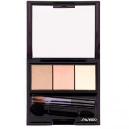 Shiseido Eyes Luminizing Satin trio očné tiene odtieň BE 213 Nude 3 g