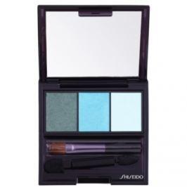 Shiseido Eyes Luminizing Satin trio očné tiene odtieň GR 412 Lido 3 g