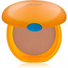 Shiseido Sun Foundation kompaktný make-up SPF 6 odtieň Bronze  12 g