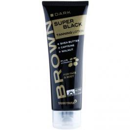 Tannymaxx Brown Super Black opaľovací krém do solária  125 ml