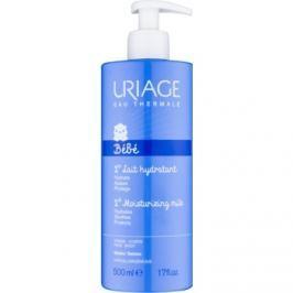 Uriage 1érs Soins Bébés hydratačné mlieko na telo a tvár pre deti od narodenia  500 ml