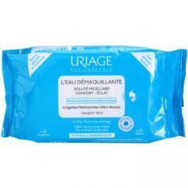 Uriage Hygiène odličovacie obrúsky pre normálnu a suchú pleť  25 ks