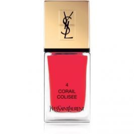 Yves Saint Laurent La Laque Couture lak na nechty odtieň 04 Corail Colisee 10 ml