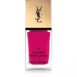 Yves Saint Laurent La Laque Couture lak na nechty odtieň 10 Fuchsia Neo-Classic 10 ml