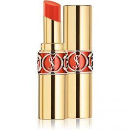 Yves Saint Laurent Rouge Volupté Shine Oil-In-Stick hydratačný rúž odtieň 58 Orange Touron 4 ml