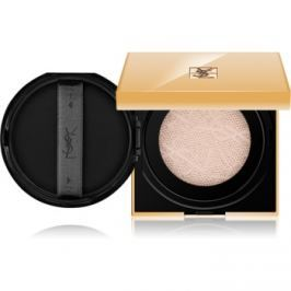 Yves Saint Laurent Touche Éclat Le Cushion rozjasňujúci tekutý make-up v hubke odtieň BR 40 Cool Sand 15 g