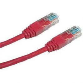 Datacom, CAT6, UTP, 2m, červený
