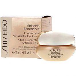 SHISEIDO Benefiance Concentrated Anti - Wrinkle Eye Cream 15  ml