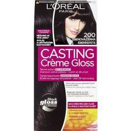 ĽORÉAL CASTING Creme Gloss 200 Ebenová černá
