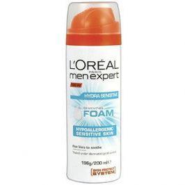 ĽORÉAL PARIS Men Expert Hydra Sensitive Shaving Foam 200 ml