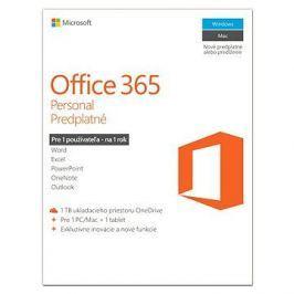 Microsoft Office 365 Personal předplatné