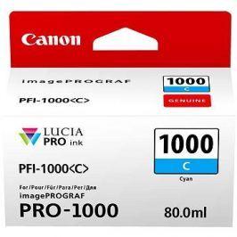 Canon PFI-1000C azurová