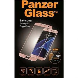 PanzerGlass Premium pro Samsung Galaxy S7 Edge ružové
