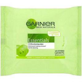 GARNIER Skin Naturals Essentials odličovací ubrousky 25 ks