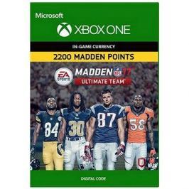 Madden NFL 17: MUT 2200 Madden Points Pack - Xbox One DIGITAL