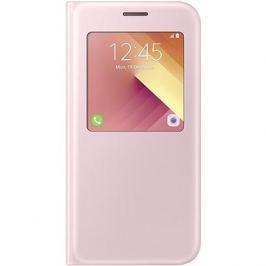 Samsung S-View Standing Cover Galaxy A5 (2017) EF-CA520P růžové