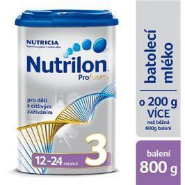 Nutrilon 3 Profutura batolecí mléko 800 g