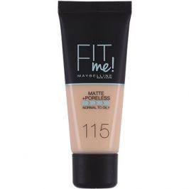 MAYBELLINE NEW YORK Fit Me Matte & Poreless Make Up 115 Ivory 30 ml