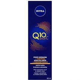 NIVEA Energizujicí Noční krém proti vráskám Q10plus C 40 ml