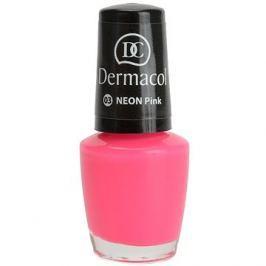 DERMACOL Neon Nail Polish Pink č.3