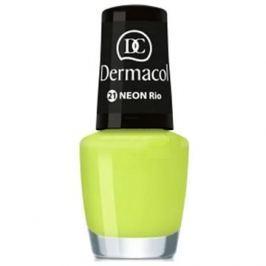 DERMACOL Neon Nail Polish Rio č.21