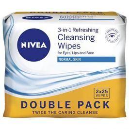 NIVEA Cleansing Wipes Normal skin Duopack 2 × 25 ks