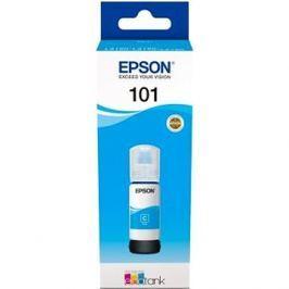 Epson 101 EcoTank Cyan ink bottle azurová