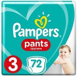 PAMPERS Pants Midi vel. 3 (72 ks)