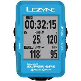 Lezyne Super GPS Special Edition - Blue