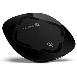 CONNECT IT Qi Certified Wireless Fast Charge černá