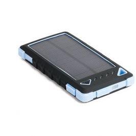 DOCA Powerbank Solar 8000mAh černá/modrá