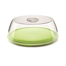 forme casa Dóza na koláč se zeleným podnosem