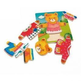Woody Puzzle obleč medvědici