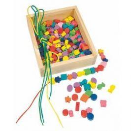 Woody Navlékací perle v krabičce