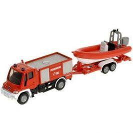 Siku Blister – Požární vozidlo Unimog s člunem