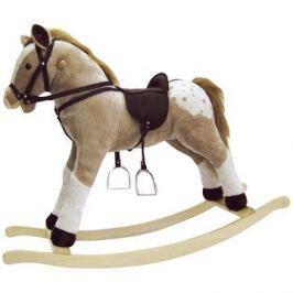 Bino Velký plyšový houpací kůň -