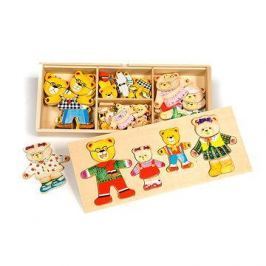 Dřevěné figurky - Medvědí rodinka