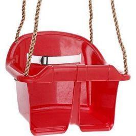Houpačka CUBS Basic plastová - červená