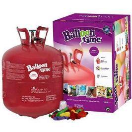 Helium Balloon Time + 50 balónků