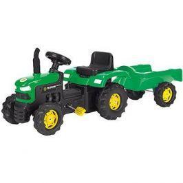 Šlapací traktor s vozíkem